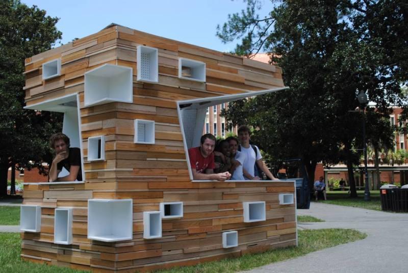 Outdoor wooden kiosk plans tenuous20fds for Garden kiosk designs